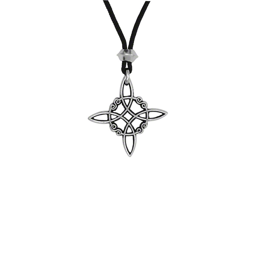 Witches Knot Pewter Pendant