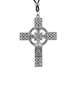 Large Pewter Celtic-Cross