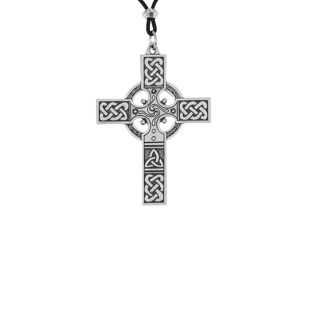 Large Pewter Celtic-Cross