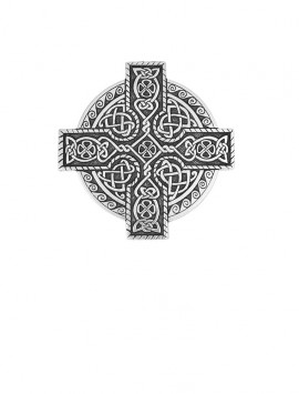 Celtic Kings Cross Cloak Pin