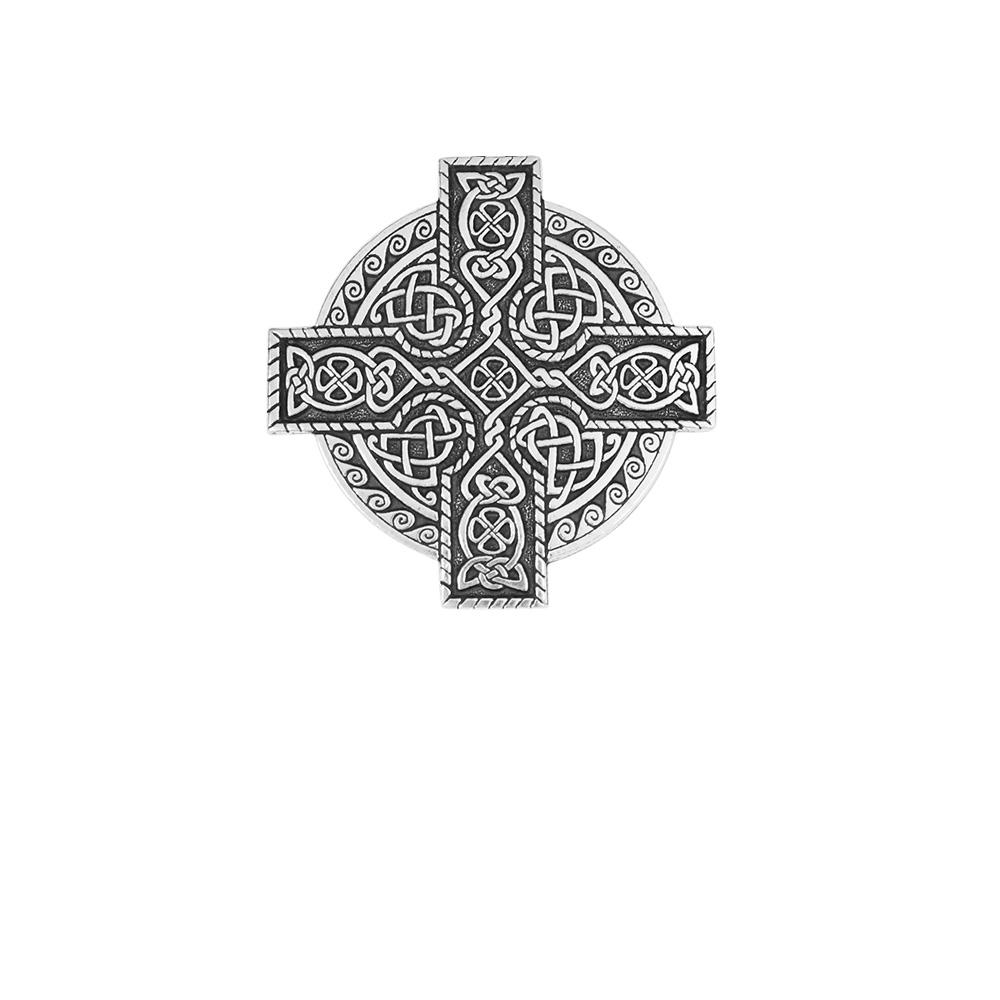 Celtic Kings Cross Cloak Pin