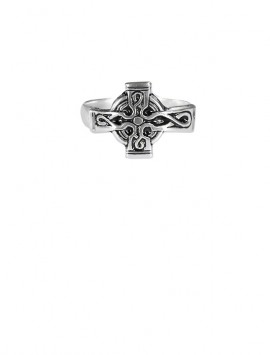 Sterling Silver Celtic Cross Ring