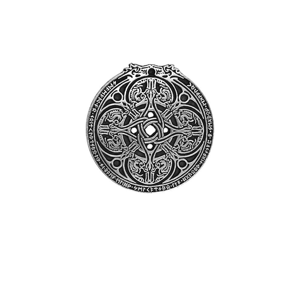 Dragon Shield Cloak Pin