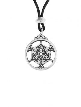 Pewter Heart Triscele Pendant