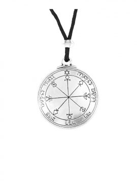 Pewter Moon Talisman