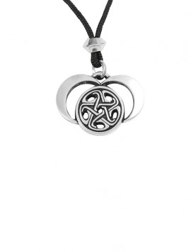 As a triple-goddess, Hecate represents maiden, mother and crone; mind, body and spirit; and birth, life, and death