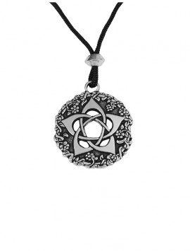 Pewter Goddess Pentacle