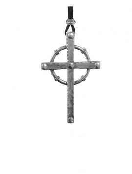 Pewter Prince of Thieves Cross