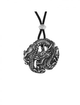 Round Dragon Amulet