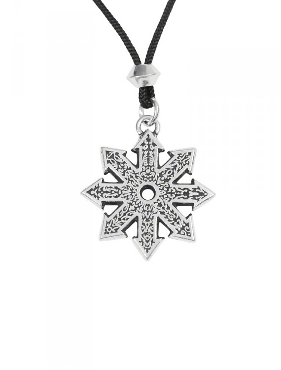 """The Star of Chaos ~ The """"Divine Fire Wheel"""""""