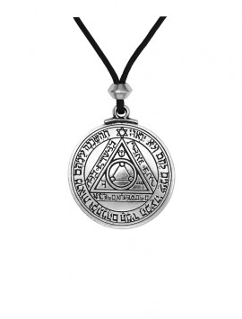 Pewter Talisman of the Sun