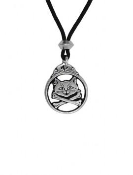 Pewter Captian Kitty