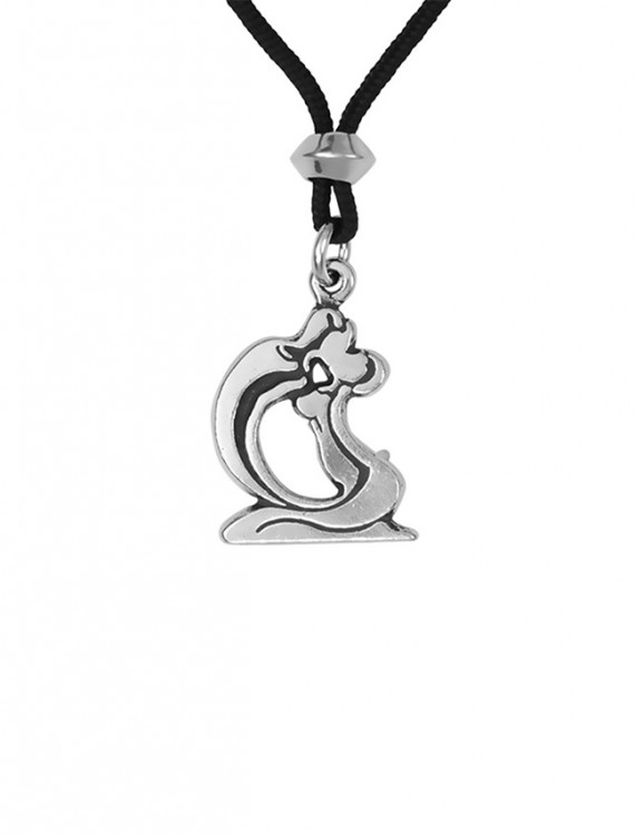 The Kiss Pewter Pendant