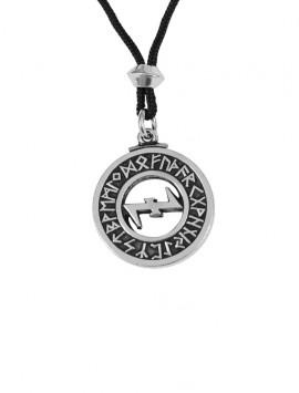 Wolfangel Rune Pendant