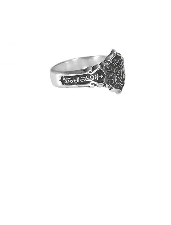 Sterling Silver Communication with Animals Ring