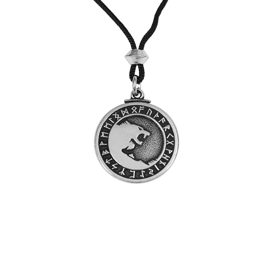 Odin's Wolf Amulet