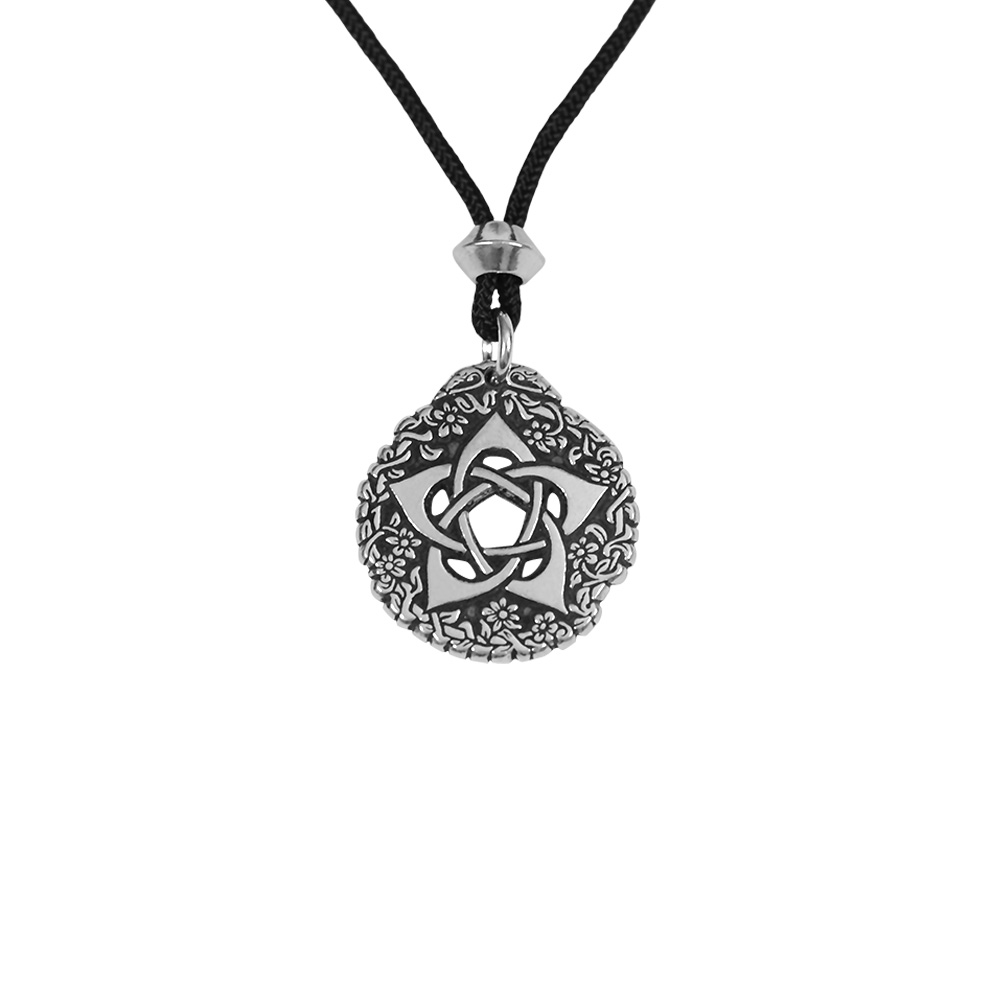 Small Pewter Goddess Pentacle